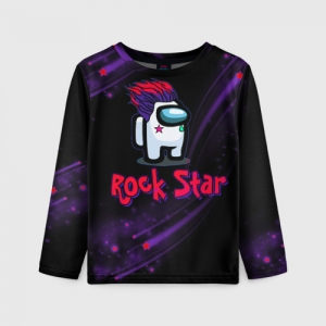 Collectibles Among Us Rock Star Kids Long Sleeve