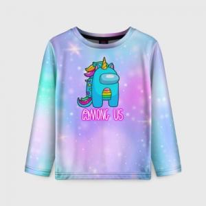 Collectibles Among Us Kids Long Sleeve Rainbow Unicorn