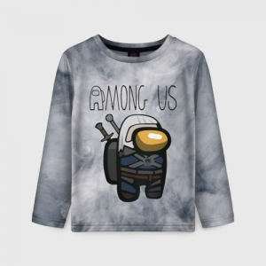 Collectibles Kids Long Sleeve Among Us X The Witcher