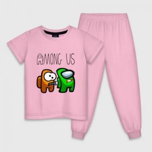 - People 1 Child Pajamas Front Lightpink 500 104