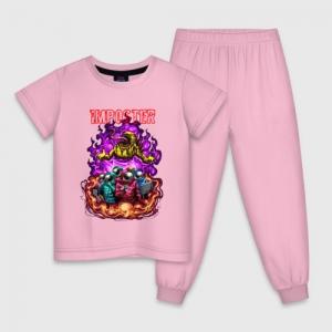 - People 1 Child Pajamas Front Lightpink 500 94