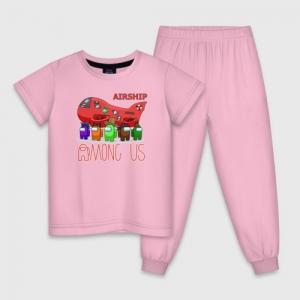 - People 1 Child Pajamas Front Lightpink 500 98