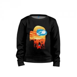 - People 1 Child Sweatshirt Cotton Front Black 500 32