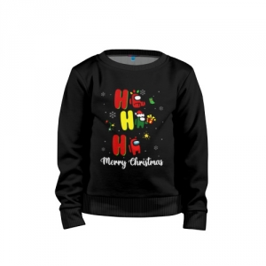 - People 1 Child Sweatshirt Cotton Front Black 500 34