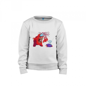 - People 1 Child Sweatshirt Cotton Front White 500 68