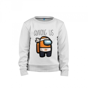 - People 1 Child Sweatshirt Cotton Front White 500 70