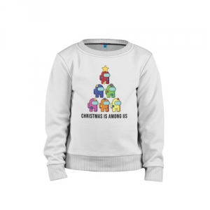 - People 1 Child Sweatshirt Cotton Front White 500 71