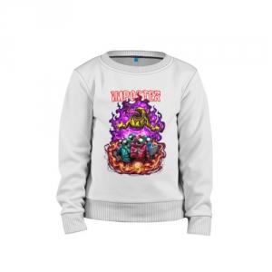 - People 1 Child Sweatshirt Cotton Front White 500 73