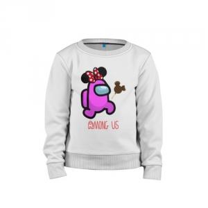 - People 1 Child Sweatshirt Cotton Front White 500 76