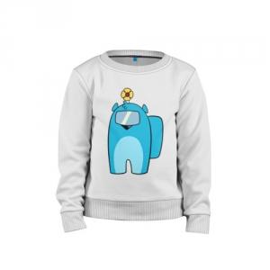 - People 1 Child Sweatshirt Cotton Front White 500 79