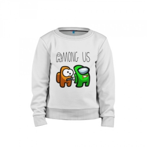 - People 1 Child Sweatshirt Cotton Front White 500 80