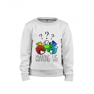 - People 1 Child Sweatshirt Cotton Front White 500 84