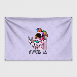 - People 1 Flag Banner Front White 500 174