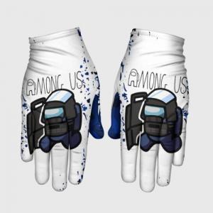 Merchandise Gloves Swat Among Us White Blue