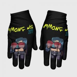 Merchandise Gloves Among Us X Cyberpunk 2077