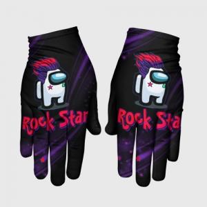 Merchandise Among Us Rock Star Gloves