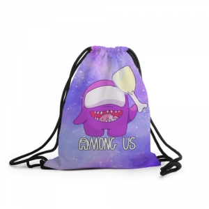 Collectibles Sack Backpack Among Us Imposter Purple