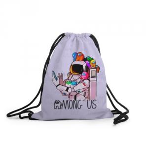 Merchandise - Spaceman Sack Backpack Among Us Crewmates