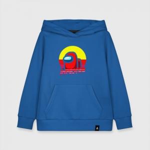 Merchandise Kids Cotton Hoodie Among Us Impostor