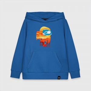 Merchandise Kids Cotton Hoodie Among Us Imposter