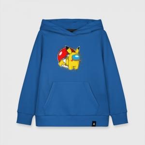 Merchandise Kids Cotton Hoodie Among Us Pokemon