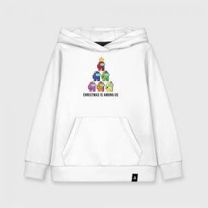 - People 1 Kids Hoodie Front White 500 54