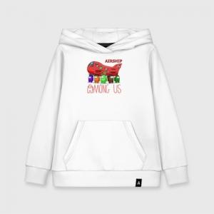 - People 1 Kids Hoodie Front White 500 59