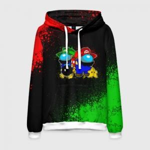 Merchandise Men'S Hoodie Among Us Mario Luigi