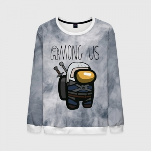 Collectibles Men'S Sweatshirt Among Us X The Witcher