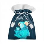 Merch Cyan Gift Bag Among Us Spaceman Art
