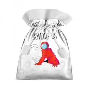 Merchandise Red Crewmate Gift Bag Among Us