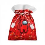 Merchandise Red Pixel Gift Bag Among Us 8Bit