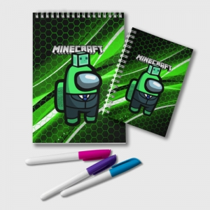 Collectibles Notepad Among Us Х Minecraft
