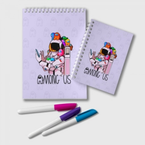 Collectibles Spaceman Notepad Among Us Crewmates