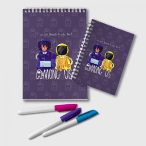 Collectibles Notepad Mates Among Us Purple
