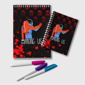 Collectibles Deadly Dance Notepad Among Us