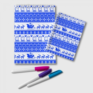 Collectibles Notepad Among Us Christmas Pattern