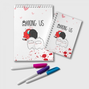 Collectibles Among Us Notepad Love Killed