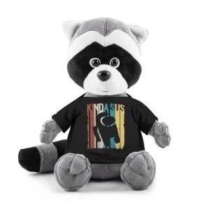 Merchandise - Plush Raccoon Kinda Sus Among Us Black