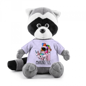 - People 1 Raccoon Toy Front Grey 500 212