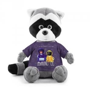 Merch - Plush Raccoon Mates Among Us Purple