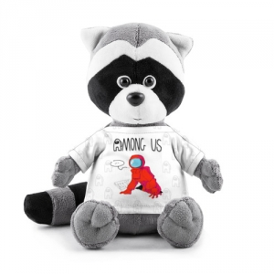 Collectibles - Red Crewmate Plush Raccoon Among Us