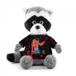 - People 1 Raccoon Toy Front Grey 500 217