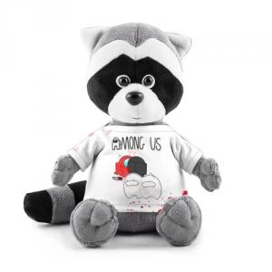 Merchandise Among Us Plush Raccoon Love Killed