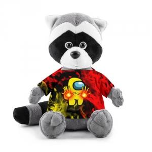 Merchandise Fire Mage Plush Raccoon Among Us Flames