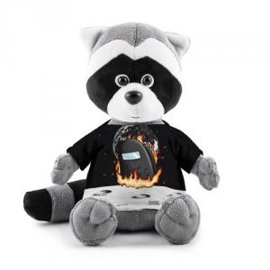 Merchandise Black Plush Raccoon Among Us Fire