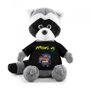 Merchandise Plush Raccoon Among Us X Cyberpunk 2077