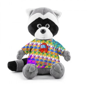 - People 1 Raccoon Toy Front Grey 500 229