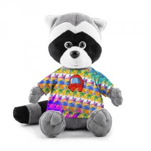 Merchandise Plush Raccoon Among Us Pattern Colored
