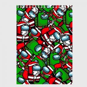 Collectibles Sketchbook Santa Imposter Among Us